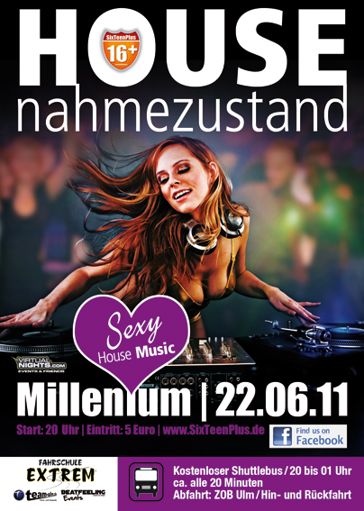 Anmeldungen für HOUSEnahmezustand - Online-Magazin Team-Ulm.de